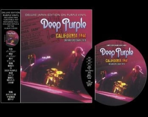 Deep Purple - Californa Jam With Turntable Mat i gruppen Minishops / Deep Purple hos Bengans Skivbutik AB (3493679)
