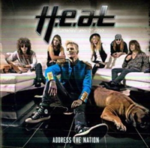 H.E.A.T. - Address The Nation i gruppen Minishops / Heat hos Bengans Skivbutik AB (3496041)