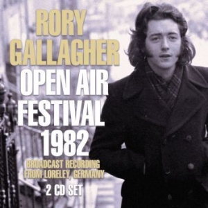 Gallagher Rory - Open Air Festival 1982 (2 Cd Broadc i gruppen CD / Pop hos Bengans Skivbutik AB (3557946)