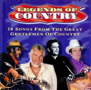 Various artists - Legends Of Country: 18 Songs From The Great Gentlemen Of Country i gruppen Kampanjer / BlackFriday2020 hos Bengans Skivbutik AB (3576850)