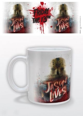 Mug - Friday the 13th (Jason Lives) Mug i gruppen Julspecial19 hos Bengans Skivbutik AB (3587754)