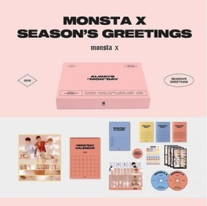 Monsta X - 2019 Season's Greetings i gruppen Kampanjer / K Pop hos Bengans Skivbutik AB (3588577)