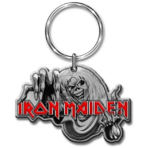 Iron Maiden - Standard Keychain: The Number Of The Beast i gruppen Julspecial19 hos Bengans Skivbutik AB (3594472)