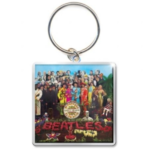 The beatles - THE BEATLES STANDARD KEYCHAIN: SGT PEPPER ALBUM i gruppen Julspecial19 hos Bengans Skivbutik AB (3641000)