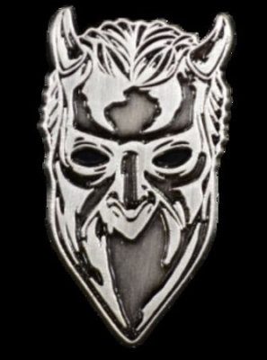 Ghost - Ghost Nameless Ghoul Antique Nickel Enamel Pin i gruppen ÖVRIGT / Merchandise hos Bengans Skivbutik AB (3655479)
