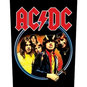 AC/DC - Highway to Hell - Back Patch i gruppen ÖVRIGT / Merch Blandat hos Bengans Skivbutik AB (3655638)