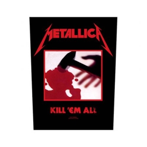 Metallica - Kill 'em all - Back Patch i gruppen Julspecial19 hos Bengans Skivbutik AB (3655640)