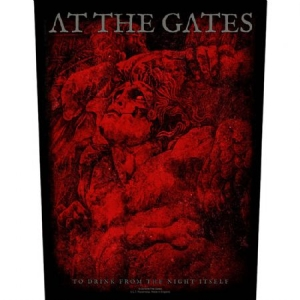 At The Gates Back Patch: To Drink From the Night I - To Drink From the Night Itself i gruppen ÖVRIGT / Merch Blandat hos Bengans Skivbutik AB (3655654)