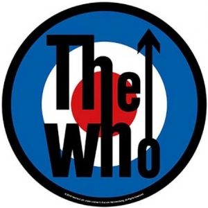 The Who - Target - Back Patch i gruppen ÖVRIGT / Merch Tygmärke hos Bengans Skivbutik AB (3655655)