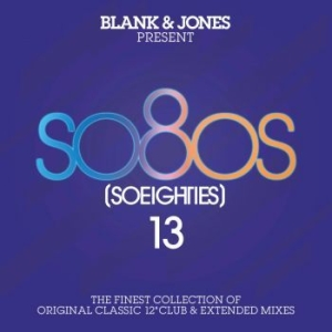 Blank & Jones - So Eighties 13 - So Eighties 13 - Presented By Blank i gruppen CD / Nyheter / Pop hos Bengans Skivbutik AB (3655792)