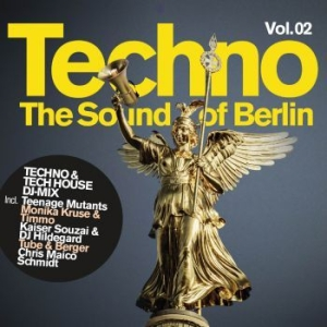 Blandade Artister - Techno-The Sound Of Berlin Vol 2 i gruppen CD / Kommande / Dans/Techno hos Bengans Skivbutik AB (3725847)