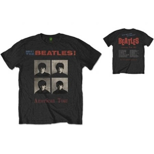 The Beales - THE BEATLES UNISEX TEE: AMERICAN TOUR 1964 (BACK PRINT) i gruppen ÖVRIGT / Merch T-shirts / Classic Tours hos Bengans Skivbutik AB (3756565r)