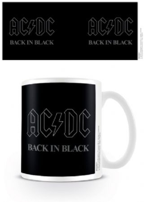 AC/DC - Back In Black Coffee Mug i gruppen ÖVRIGT / Merch Muggar hos Bengans Skivbutik AB (3778790)