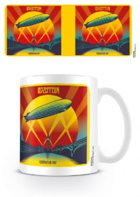 Led Zeppelin - Celebration Day Coffee Mug i gruppen Julspecial19 hos Bengans Skivbutik AB (3778807)