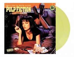 Soundtrack - Pulp Fiction Soundtrack - Translucent yellow i gruppen VINYL / Vinyl Ltd Färgad hos Bengans Skivbutik AB (3795187)