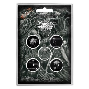 Darkthrone - Button Badge Pack: Old Star (Retail Pack) i gruppen MERCHANDISE / Övrigt / Merch Plektrum hos Bengans Skivbutik AB (3795889)
