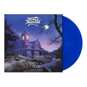 King Diamond - Them (Royal Blue Vinyl W/Poster) i gruppen Kampanjer / BlackFriday2020 hos Bengans Skivbutik AB (3802729)