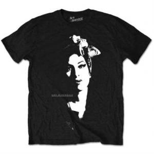 Amy Winehouse - T-shirt - Scarf Portrait (Men Black) i gruppen ÖVRIGT / Merch T-shirts hos Bengans Skivbutik AB (3825728)