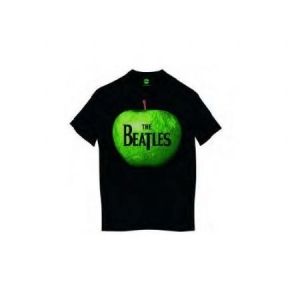 Beatles - T-shirt - Apple  (Men Black) i gruppen ÖVRIGT / Merch T-shirts / T-shirt Kampanj hos Bengans Skivbutik AB (3826217)