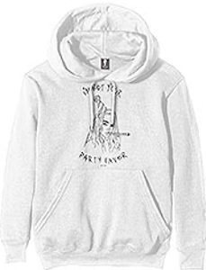Billie Eilish - Unisex pullover Hoodie White - Party Favour i gruppen Minishops / Billie Eilish hos Bengans Skivbutik AB (3865131)