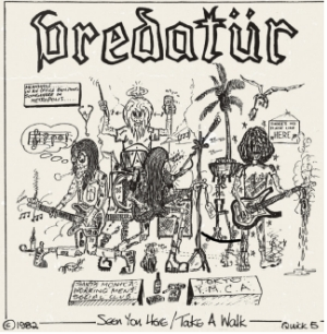 Predatur - Seen You Here b/w Take A Walk i gruppen VINYL hos Bengans Skivbutik AB (3878252)