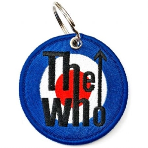 Who - The Who Keychain: Target Logo (Double Sided Patch) i gruppen Kampanjer / BlackFriday2020 hos Bengans Skivbutik AB (3881397)