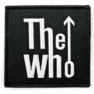 Who - The Who Standard Patch: Arrow Logo i gruppen ÖVRIGT / Merchandise hos Bengans Skivbutik AB (3882163)