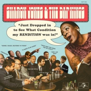 Jones Sharon & The Dap Kings - Just Dropped In i gruppen VINYL / Kommande / RNB, Disco & Soul hos Bengans Skivbutik AB (3905144)