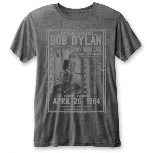 Bob Dylan - Unisex Tee: Curry Hicks Cage (Burn Out) i gruppen ÖVRIGT / Merch T-shirts / Classic Tours hos Bengans Skivbutik AB (3912587r)