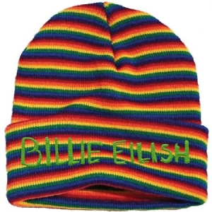 Billie Eilish - Billie Eilish Unisex Beanie Hat : Stripes i gruppen ÖVRIGT / Merch Nyheter hos Bengans Skivbutik AB (3944415)
