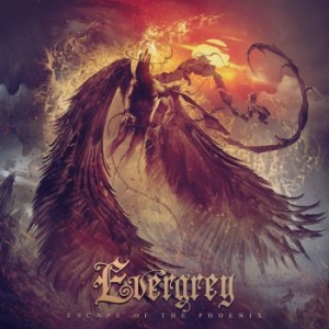 Evergrey - Escape Of The Phoenix i gruppen CD / Kommande / Hårdrock/ Heavy metal hos Bengans Skivbutik AB (3952141)