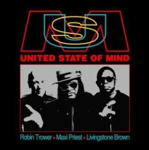 Trower Robin / Maxi Priest / Living - United State Of Mind i gruppen CD / Kommande / RNB, Disco & Soul hos Bengans Skivbutik AB (3977675)