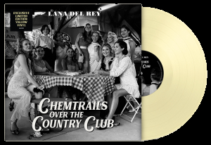 Lana Del Rey - Chemtrails Over The Country Club (Indie-only Yellow Vinyl) US IMPORT i gruppen VINYL / Vinyl Ltd Färgad hos Bengans Skivbutik AB (4064902)