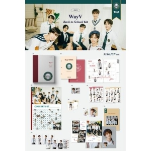 WayV - 2021 Wayv Back To School Kit (Yangyang Version) i gruppen Minishops / K-Pop Minishops / WayV hos Bengans Skivbutik AB (4066137)