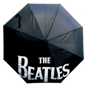 Beatles - The Beatles Umbrella : Drop T Logo With Retractable Fitting i gruppen ÖVRIGT / Merch Nyheter hos Bengans Skivbutik AB (4073866)