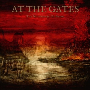 At The Gates - Nightmare Of.. -Coloured- i gruppen VINYL / Kommande / Hårdrock/ Heavy metal hos Bengans Skivbutik AB (4099889)