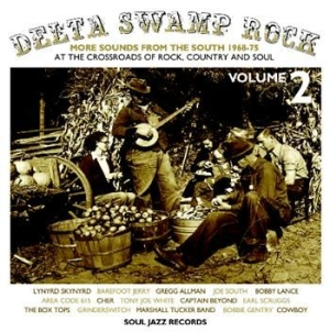 Blandade Artister - Delta Swamp Rock 2: More Sounds Fro i gruppen CD / Rock hos Bengans Skivbutik AB (484896)