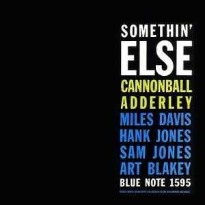 Adderley cannonball - Something Else i gruppen VINYL / Vinyl Jazz hos Bengans Skivbutik AB (486201)