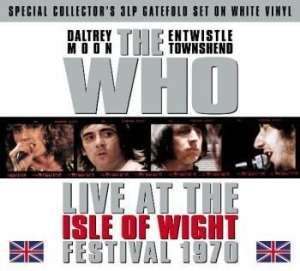 Who - Live At Isle Of Wight Fest.1970 (18 i gruppen VINYL / Hårdrock/ Heavy metal hos Bengans Skivbutik AB (487085)