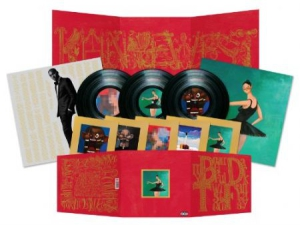 Kanye West - My Beautiful Dark Twisted Fantasy i gruppen VINYL / Vinyl RnB-Hiphop hos Bengans Skivbutik AB (494206)