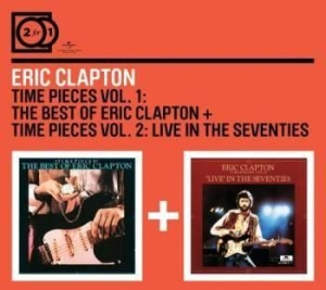 Eric Clapton - 2For1 Time Pieces Vol 1 & 2 i gruppen CD / Pop hos Bengans Skivbutik AB (590926)