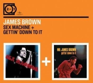 Brown James - 2For1 Sex Machine7Getting Down... i gruppen CD / Pop hos Bengans Skivbutik AB (590939)