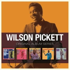 Wilson Pickett - Original Album Series i gruppen CD / RNB, Disco & Soul hos Bengans Skivbutik AB (603331)