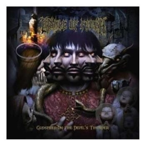Cradle Of Filth - Godspeed On The Devil's Thunde i gruppen CD / Hårdrock/ Heavy metal hos Bengans Skivbutik AB (684567)
