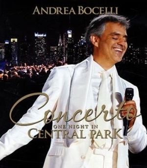 Andrea Bocelli - One Night In Central Park - Bluray i gruppen MUSIK / Musik Blu-Ray / Pop hos Bengans Skivbutik AB (740575)