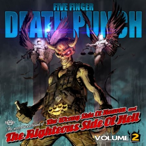 Five Finger Death Punch - Wrong Side Of Heaven . (Cd+Dvd) i gruppen CD / Rock hos Bengans Skivbutik AB (750120)