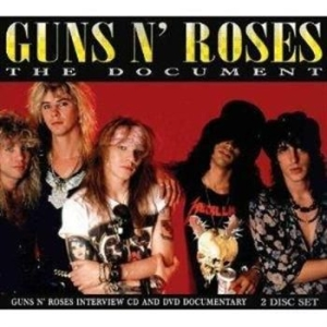 Guns N Roses - Document - Dvd And Cd Documentary i gruppen ÖVRIGT / Musik-DVD & Bluray hos Bengans Skivbutik AB (885405)