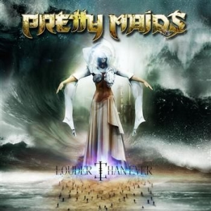 Pretty Maids - Louder Than Ever i gruppen CD / Hårdrock/ Heavy metal hos Bengans Skivbutik AB (961765)