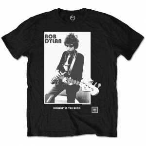 Bob Dylan Blowing In The Wind Mens Blk TS i gruppen ÖVRIGT / Merch T-shirts hos Bengans Skivbutik AB (V-2626200)