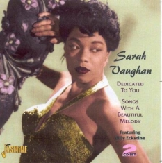Sarah Vaughan - Dedicated To You
